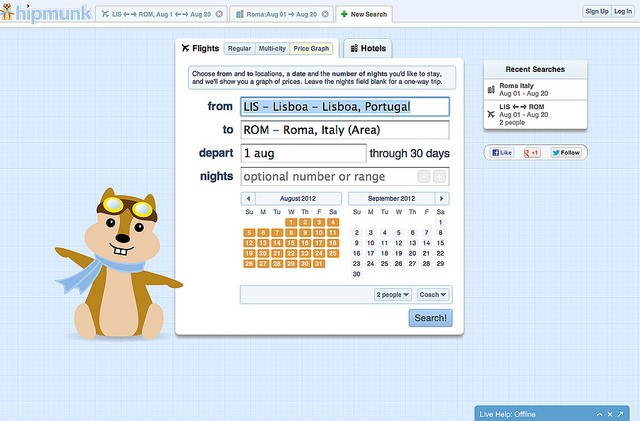 Hipmunk Chatbot Review
